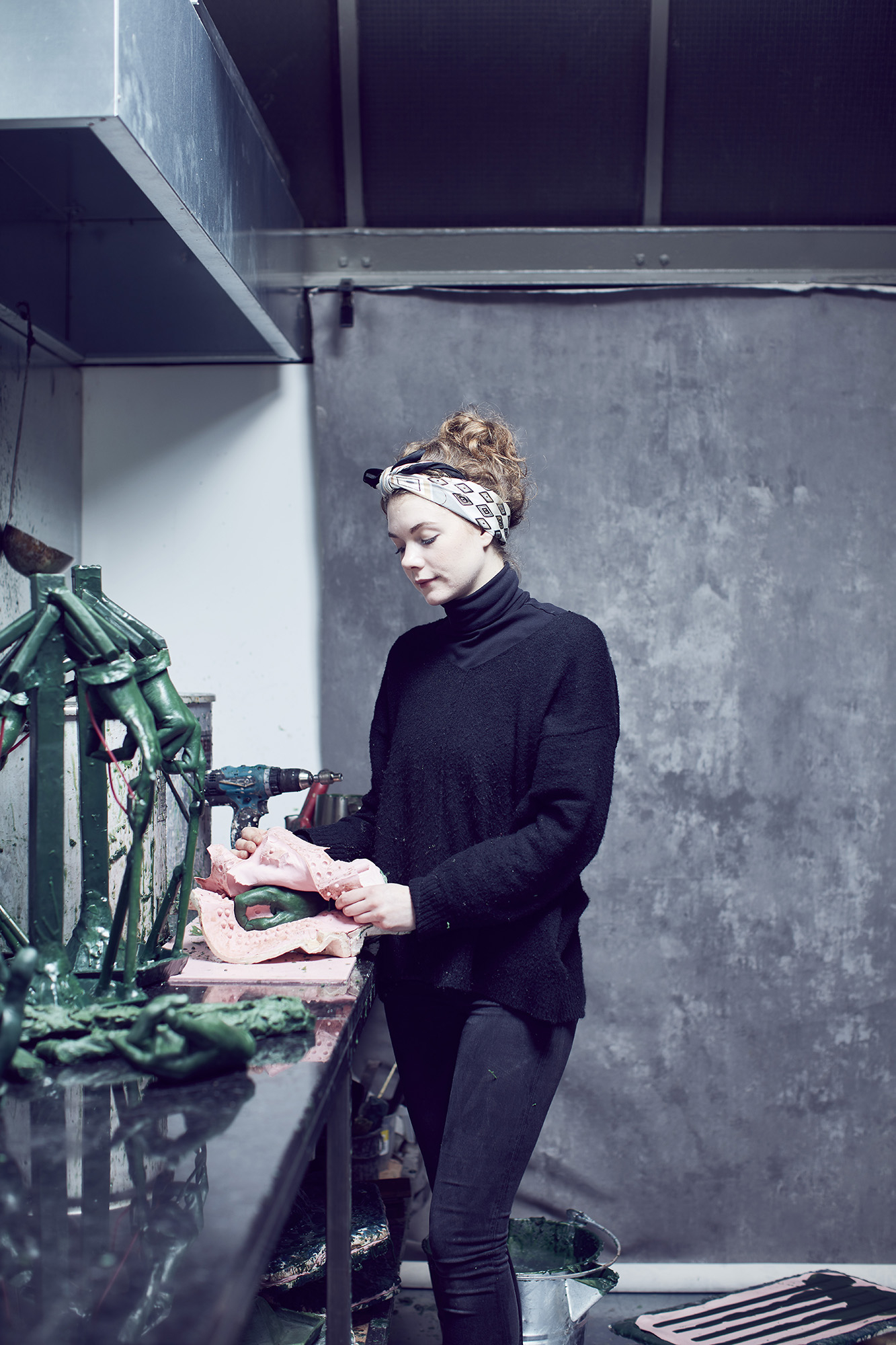 In the Workshops of Cox London photographed by Alun Callender